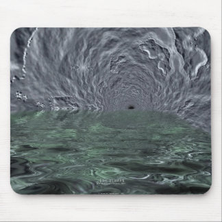 Distant Planet Cavern Mouse Pad
