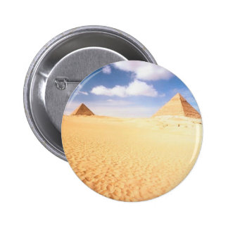 Distant Pyramids 2 Inch Round Button