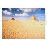 Distant Pyramids Card