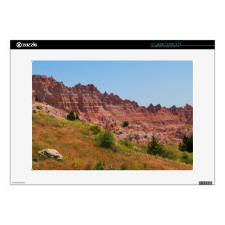 """""""Distant Red Cliffs"""" collection Decal For Laptop"""
