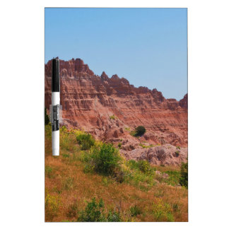 """Distant Red Cliffs"" collection Dry Erase Board"