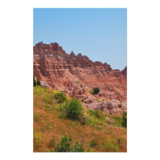 """""""Distant Red Cliffs"""" collection Stationery Design"""