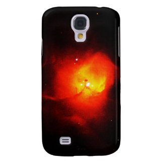 Distant Red Nebula Galaxy S4 Cover