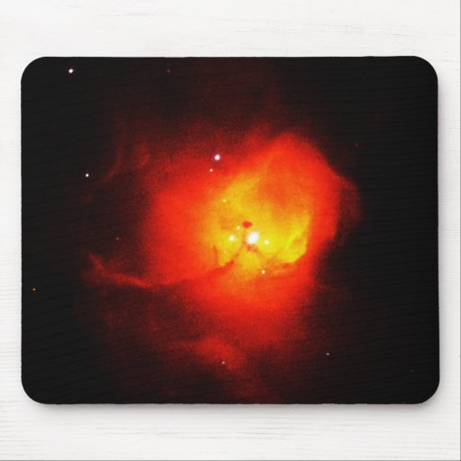 Distant Red Nebula Mousepad