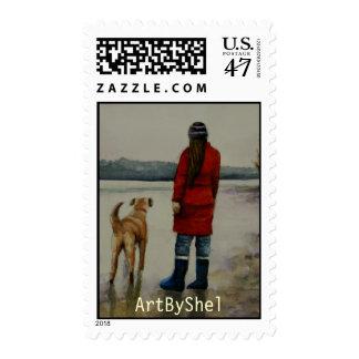 distant shores postage
