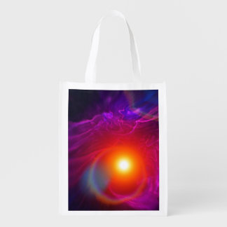 Distant Solar Winds Grocery Bag