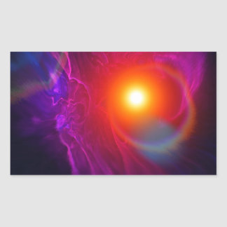 Distant Solar Winds Rectangular Sticker