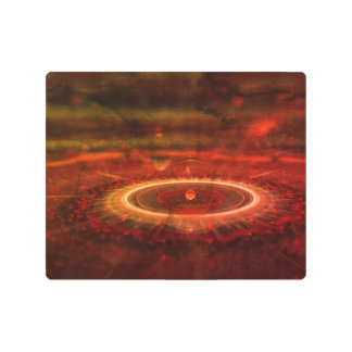 Distant Solar World Outerspace Metal Print