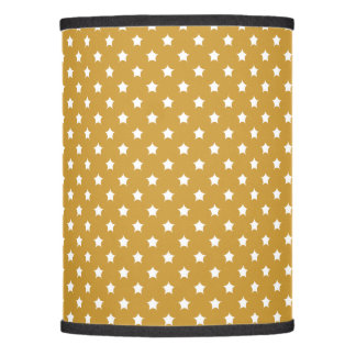 Distant Stars Pattern Golden Lamp Shade