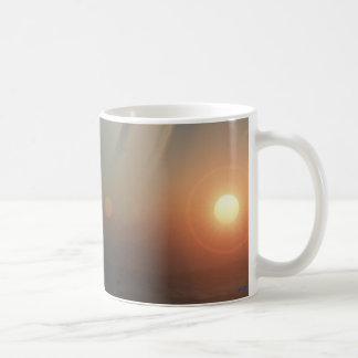 distant sunrise mug
