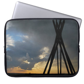 """Distant Thunder"" collection laptop sleeve"