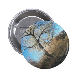 Distant Tree Pinback Buttons