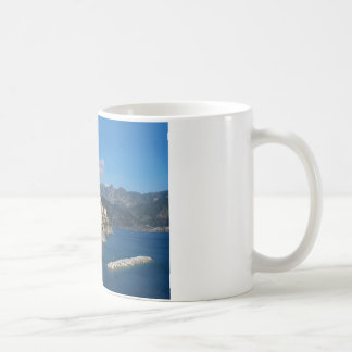 Distant view of Atrani on Amalfi coast Coffee Mug
