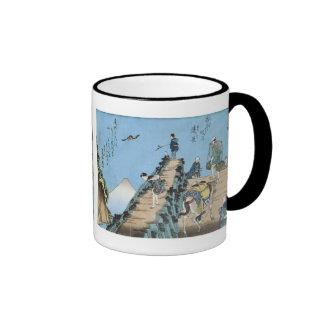 Distant View of Mt Fuji, Kuniyoshi, c. 1843 Mug