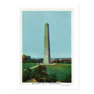 Distant View of the Bunker Monument Postcard