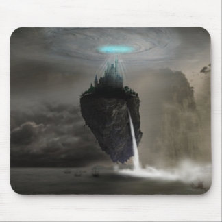 Distant World Fantasy Art Mouse Pad