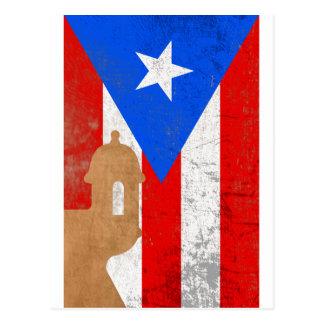 distessed el moro puerto rico.png postcard