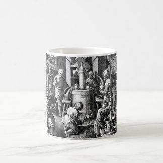 Distillation in an Alchemy Lab Coffee Mug