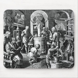Distillation in an Alchemy Lab Mouse Pad