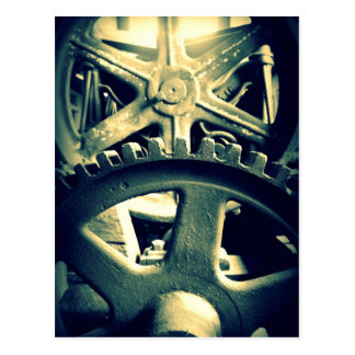 Distillery Gears Postcard