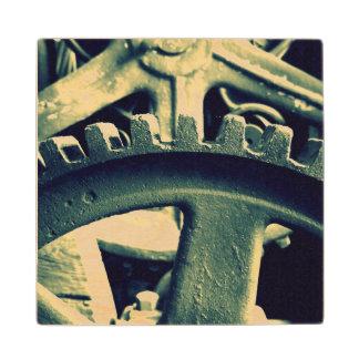 Distillery Gears Wooden Coaster