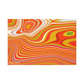 Distinction in Numerous Bright Colors Canvas