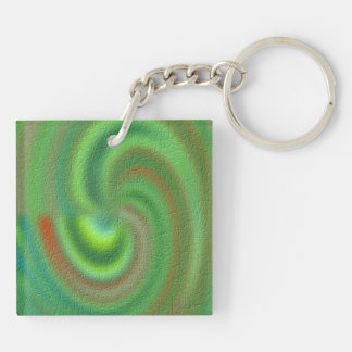 Distinctive Abstract pattern Keychain