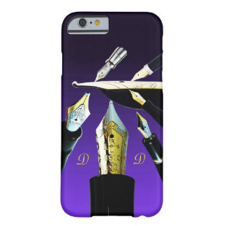 Distinctive Fountain Pen gold vintage retro nibs Barely There iPhone 6 Case