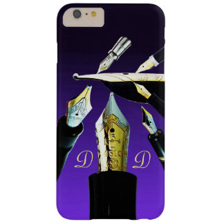 Distinctive Fountain Pen gold vintage retro nibs Barely There iPhone 6 Plus Case