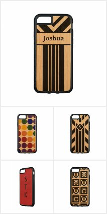 Distinctive iPhone 7 Wood Cases