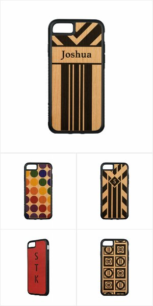 Distinctive iPhone 7 Wood Cases