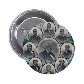 Distinguished Colored Men 2 Inch Round Button
