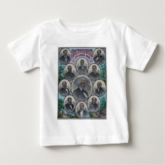 Distinguished Colored Men Baby T-Shirt