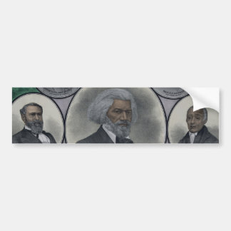 Distinguished Colored Men Bumper Sticker