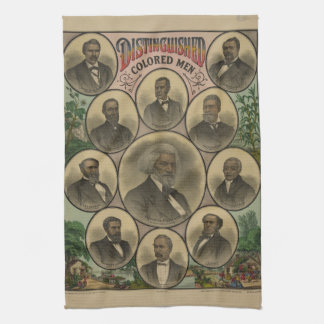 Distinguished Colored Men Frederick Douglass 1883 Hand Towels