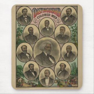 Distinguished Colored Men Frederick Douglass 1883 Mouse Pad