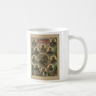 Distinguished Colored Men Frederick Douglass 1883 Classic White Coffee Mug