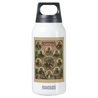 Distinguished Colored Men Frederick Douglass 1883 10 Oz Insulated SIGG Thermos Water Bottle