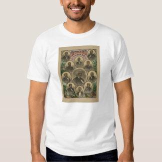 Distinguished Colored Men Frederick Douglass 1883 T-shirt