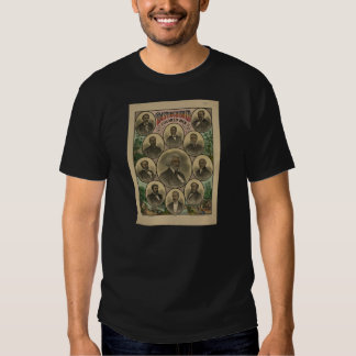 Distinguished Colored Men Frederick Douglass 1883 T Shirts