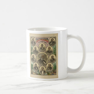 Distinguished Colored Men Frederick Douglass Classic White Coffee Mug