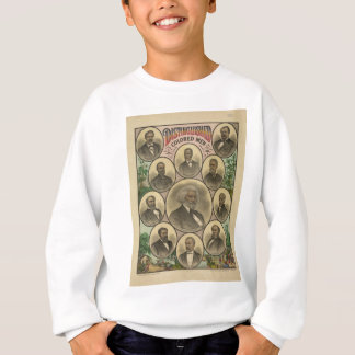 Distinguished Colored Men Frederick Douglass Sweatshirt