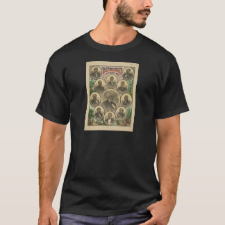 Distinguished Colored Men Frederick Douglass T-Shirt