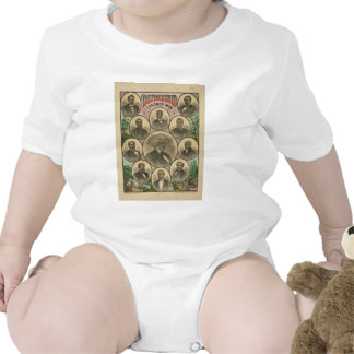 Distinguished Colored Men Frederick Douglass Baby Bodysuits