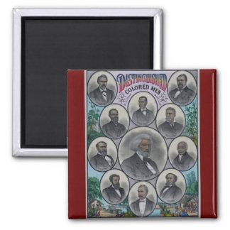 Distinguished Colored Men Magnet