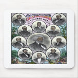 Distinguished Colored Men Mouse Pads
