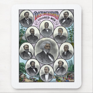 Distinguished Colored Men Mouse Pad