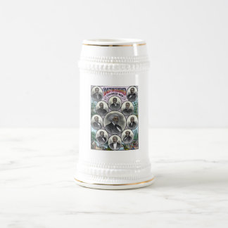 Distinguished Colored Men 18 Oz Beer Stein