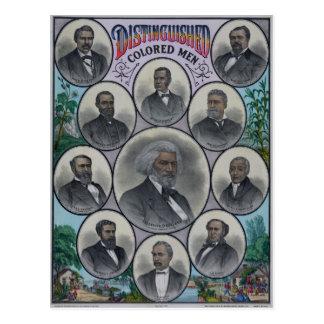Distinguished Colored Men Postcard
