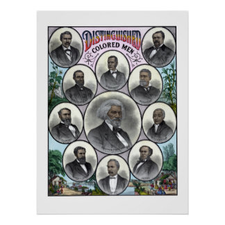 Distinguished Colored Men Posters